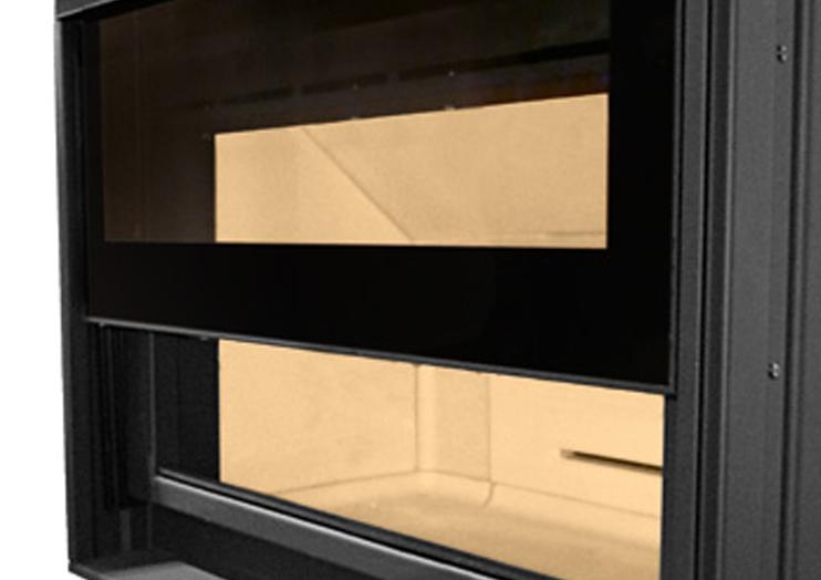 Συρόμενη πόρτας εστίας Piazzetta